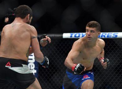MMA: UFC Fight Night-Iaquinta vs Sanchez